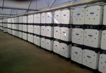 Ecobox para transporte de olivos